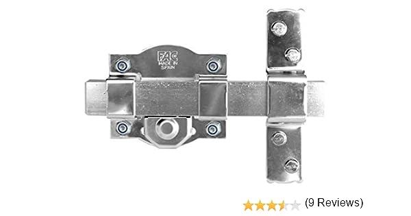 Fac seguridad 50r - Cerrojo pareja 50-r/80 trastero galvanizado: Amazon.es: Bricolaje y herramientas