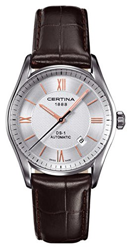 Certina - Wristwatch, Analog Automatic, Leather, Man 11