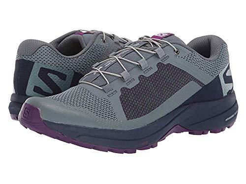Salomon Women's XA Elevate W Sneaker, Stormy Weather/Evening Blue/Purple Magic ()