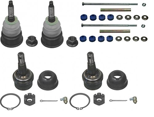 prime-choice-auto-parts-suspkg669-set-of-2-upper-and-2-lower-ball-joints-with-2-sway-bar-links
