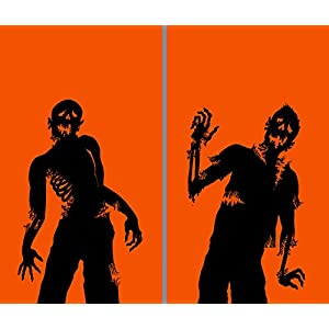 WOWindow Posters Ghoulies Translucent Window Decoration (2/pkg) Pkg/12