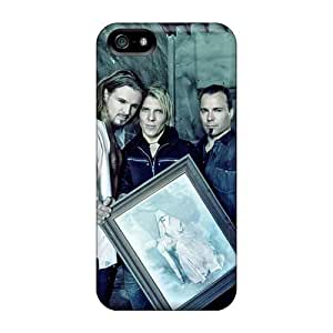 Bumper Hard Phone Case For Iphone 5/5s With Allow Personal Design Fashion Apocalyptica Band Pattern Marycase88