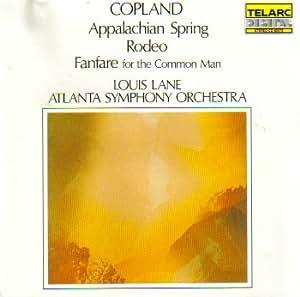 Copland Louis Lane Atlanta Symphony Orchestra Copland