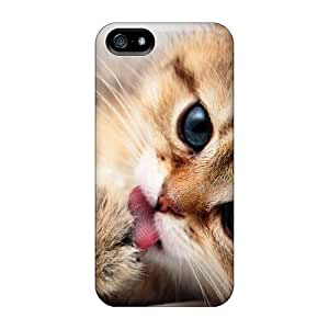 Favorcase Gju36682cmoI Cases Covers Iphone 5/5s Protective Cases Licking My Paws