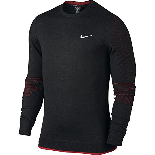 Nike Tiger Woods TW Wool Crew Golf Sweater $150 X-Large (010)
