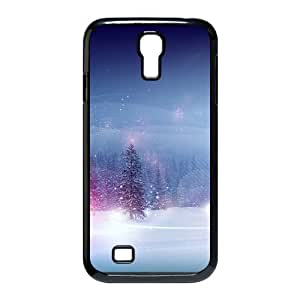 CHSY CASE DIY Design Snow Scenery Pattern Phone Case For Samsung Galaxy S4 i9500