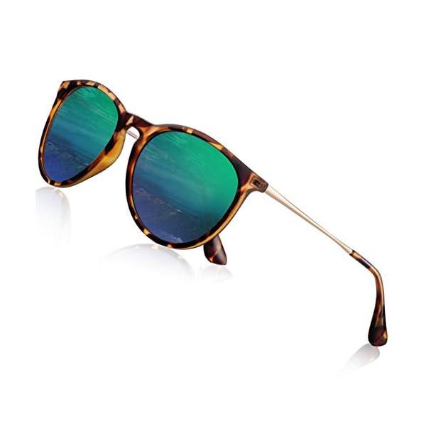 Sunglasses for Women Men Polarized uv Protection Wearpro Fashion Vintage Round Classic...