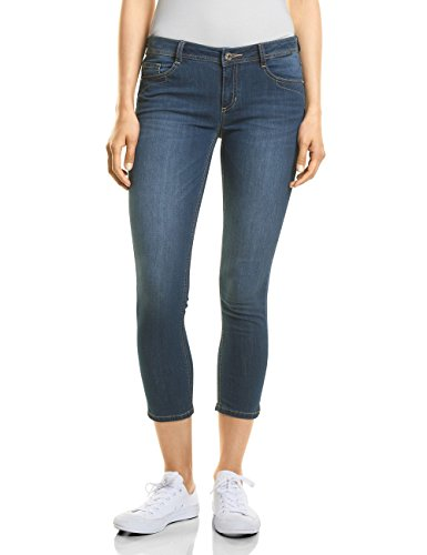 Street One Jean Slim Femme Bleu (Clean Blue Wash 11396)
