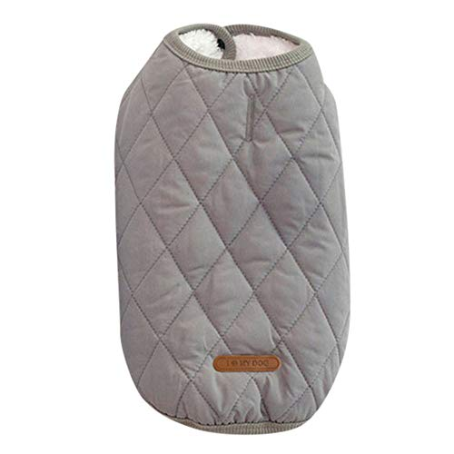 BingYELH Dog Coats Jackets Fleece Coats for Dogs Windproof Cold Weather Coats Small Medium Large Dog Clothes Dog Sweaters -