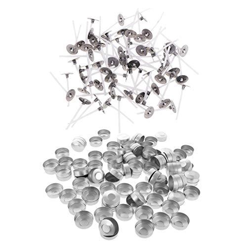 Baosity Cajas De Velas De Té Para Cajas Vacías Para Hacer Tealights De Color, Usar Con Velas Perfumadas