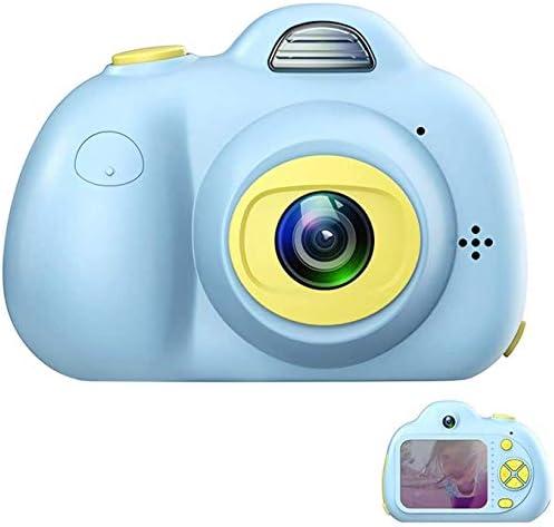 キッズカメラ、デュアルカメラ8MP充電式1080 HDビデオカメラキッズ耐衝撃キッズデジタルカメラ - 4-10歳ガールズボーイズパーティー屋外プレイのための最高の贈り物(青) (Color : Blue)