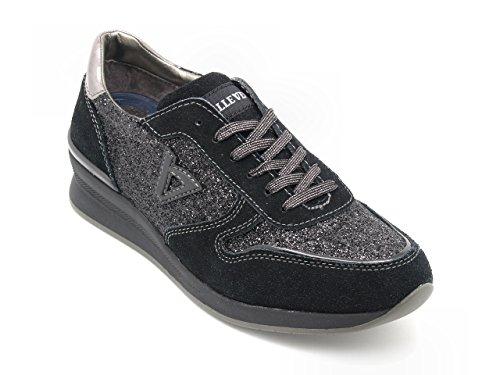 Glitter Con Nero Sneakers Stringate Valleverde 8qwtT6 f057bb1fb99
