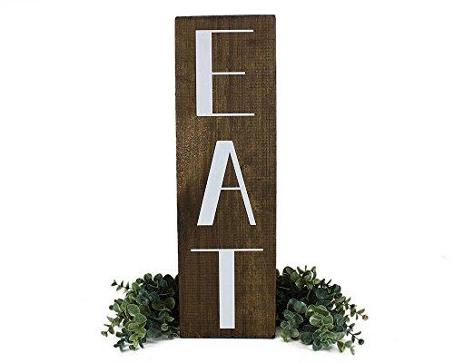 Kitchen EAT sign Farmhouse Decor (Eat Kitchen)