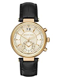 Michael Kors Women's Sawyer Black Watch MK2433