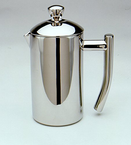 French Coffee Press Mirror Finish 18/10 Stainless Steel 2 Cup/8 Oz by French Presses