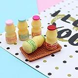 Nuanmu Miniature Food Drink Bottles Pretend Play