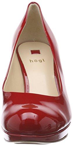 Högl 1-10 8004, Escarpins Femme Rouge - Rot (4000)