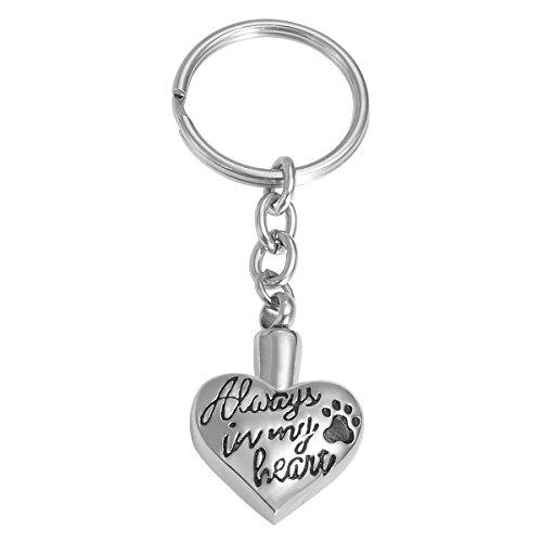 VALYRIA Memorial Pet/Dog Paw Keychain
