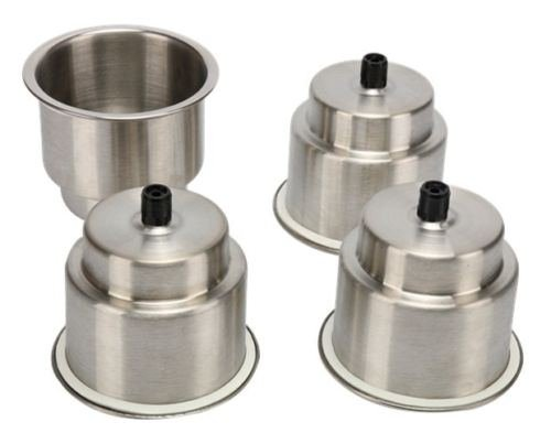 4pcs-Stainless-Steel-Cup-Drink-Holder-Marine-Boat-RV-Camper