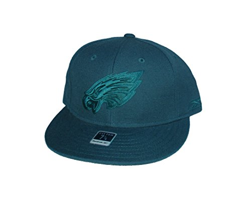 Reebok Philadelphia Eagles Fitted Size 7 1/4 NFL Authentic All Green Hat Cap ()