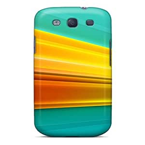 Durable Protector Case Cover With Light Streak Hot Design For Galaxy S3