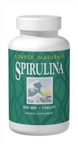 Source Naturals Spirulina 500mg, Premier Choice for Supplementing a Vegetarian Diet,200 Tablets