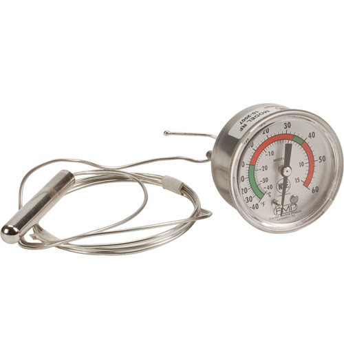 Victory 50683201 Thermometer W/2'' Dial Temp -40 To 65 F, Rear U-Clamp For Victory 621042