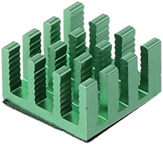 GN 10PCS Aluminum Heatsink Heat Radiator Cooler for Electronic Chip Computer Heat Dissipation Cooling Pads
