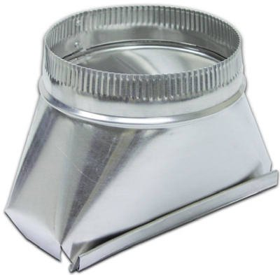 - Lambro 121 Aluminum Transition, 3 1/4-Inch x 10-Inch to 5-Inch