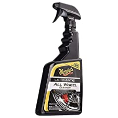 Meguiar's ultimate All wheel cleaner delivers our most powerful cleaning performance that is also safe for All wheel and brake finishes! This advanced chemistry blends road grime attacking surfactants with active brake dust dissolving agents....
