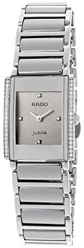 Rado-Womens-Integral-Jubile-Diamond-Gray-Dial-Silver-Tone-Ceramic
