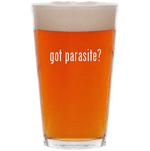 got parasite? - 16oz Pint Beer Glass