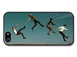 Imagine Dragons Band Photo shoot Jumping on the Ground Case For Ipod Touch 5 Cover
