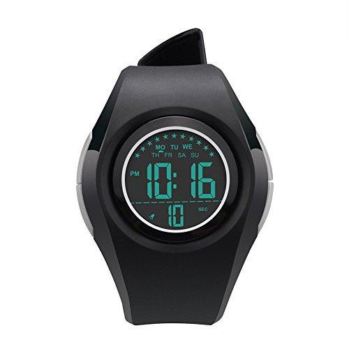 Relojes Deportivos Digitales para niñas - XREXS Reloj de Pulsera con Reloj Despertador/EL Light