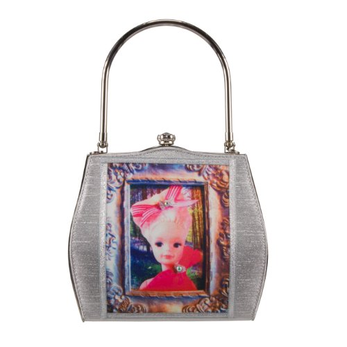 Helen Rochfort borsa SINDY IN Blue Bell wood - edizione limitata-