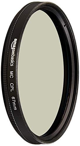 AmazonBasics - Filtro polarizador circular - 67mm