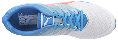 Puma Speed 300 Ignite, Scarpe da Corsa Uomo Bianco (Weiß (White-atomic Blue-red Blast 01))