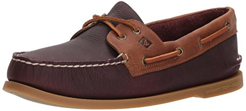 Sperry Top-sider Mænds A / O 2-eye Daytona Båd Sko Bordeaux / Tan lyYIUbuGU