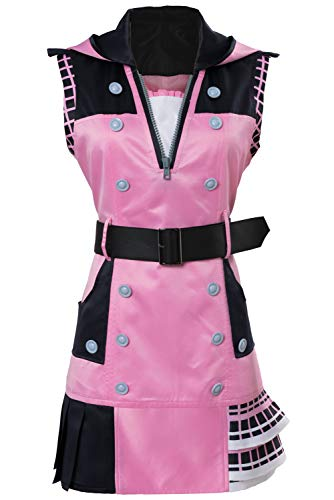 Obtai Halloween Role Play Game Kairi Dress Cosplay Costume Uniform Full Set Suit -