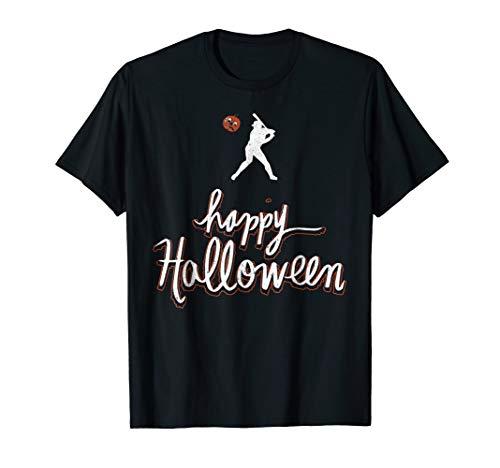 Baseball Player Halloween T-Shirt for $<!--$16.99-->