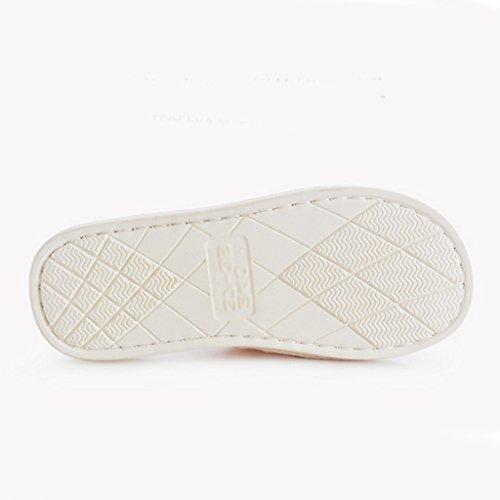 Comode 2 Signora Pattern Morbide Scarpe Calda Dww Cotone Inverno Pantofole E Antiscivolo Coperta Assorbente Casa 6q7Z7w