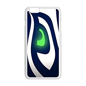 Happy Seattle Seahawks Fahionable And Popular Back Case Cover For Iphone 6 Plus