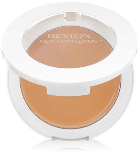 Revlon New Complexion One-Step Compact Makeup, Sand Beige, 0.35 Ounce