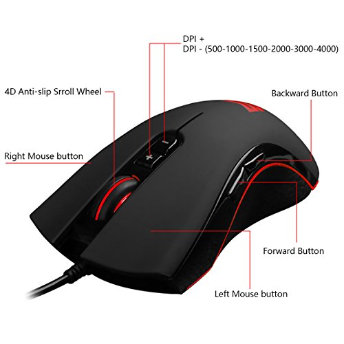 41Ao1rtxmcL - Weekly-Promotion-25-Discount-off-Wired-Gaming-USB-Optical-MouseWith-7-Programmable-ButtonsAdjustable-DPIErgonomic-Mouse-With-4D-Anti-Slip-Scroll-Wheel-For-PC-ComputerLaptopSmooth-Cursor-By-Qisan