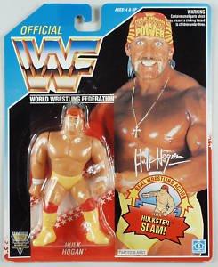 Wwf Hulk Hogan with Hulksterm Slam! Vintage Action Figure Wwe