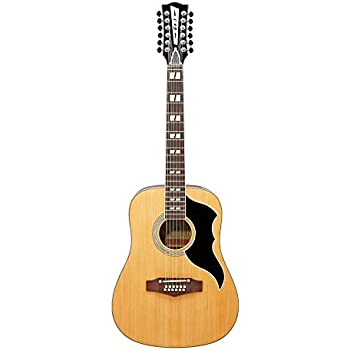 eko guitars 12 string acoustic electric guitar right handed natural blond 06217129. Black Bedroom Furniture Sets. Home Design Ideas
