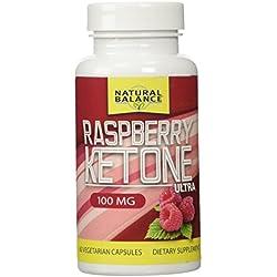 Natural Balance Raspberry Ketones Ultra-Lean Supplement, 60 Count