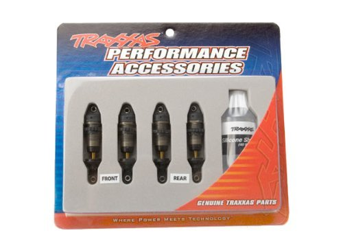 Traxxas 7061X 1/16 GTR Hard-Anodized Aluminum Shocks (PTFE-coated bodies and TiN shafts) (set of 4)