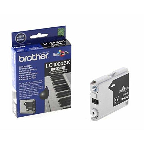 Brother LC-1000BK Tinte schwarz 500 Seiten DCP-130/330/540/750 MFC-240C/440/660