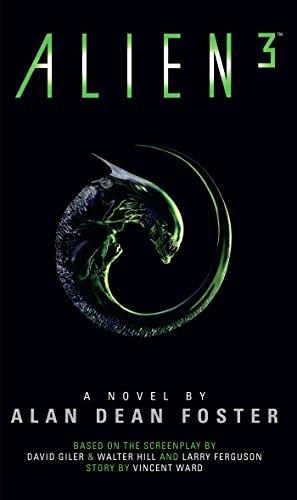 Alien 3 book cover